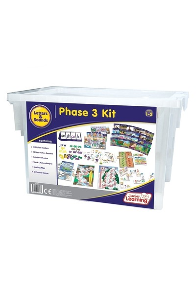 Letters and Sounds Kit - Phase 3: Phonics