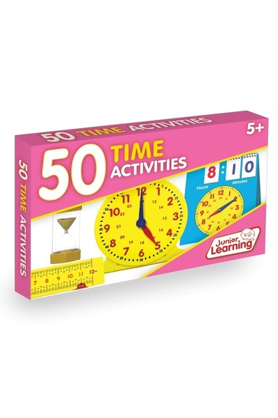 50 Time Activity Cards