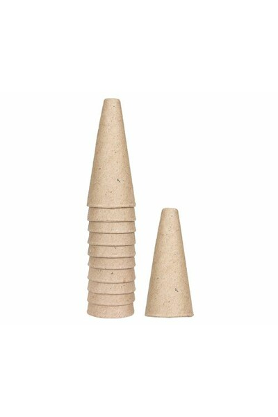 Cardboard Cone - Small (7.5cm): Pack of 10