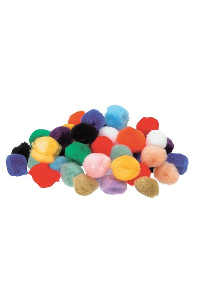 Pom Poms - 12mm (Pack of 100)