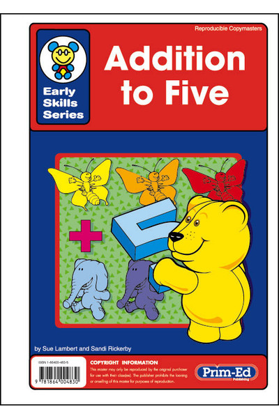 Early Skills Series - Addition to Five