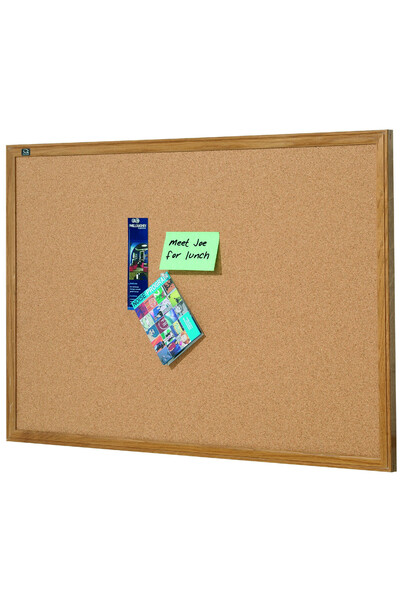 Quartet - Oak Frame Corkboard (1800 x 1200mm)