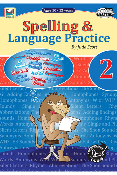 Spelling and Language Practice - Book 2: Ages 10-12