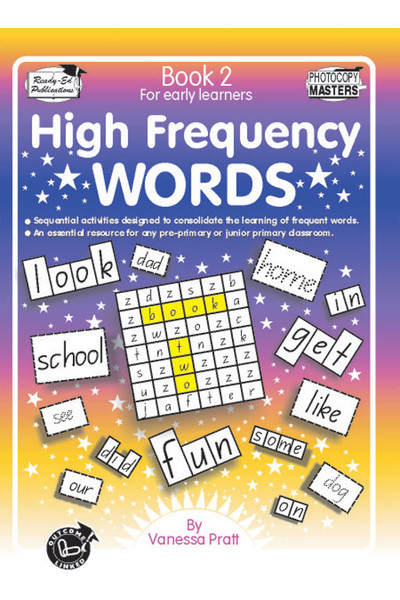 High Frequency Words - Book 2 (NSW Foundation Font)