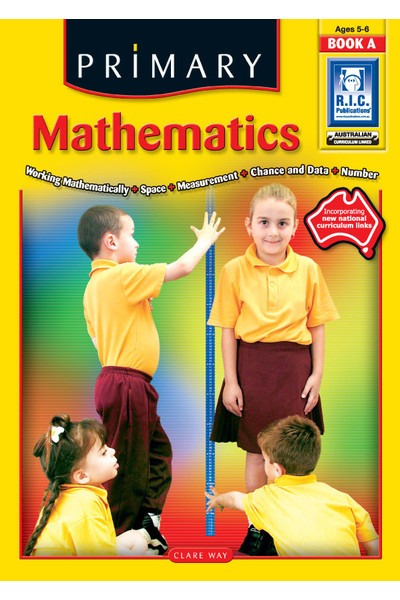 Primary Mathematics - Book A: Ages 5-6