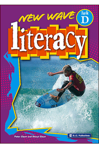 New Wave Literacy - Workbook D: Ages 8-9