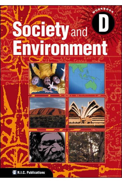 Society and Environment - Student Workbook D: Ages 8-9