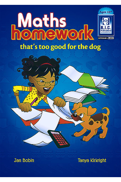 Maths Homework that's too Good for the Dog - Ages 10+