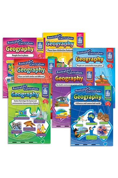 Australian Curriculum Geography - Book Pack
