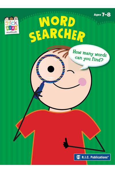 Stick Kids English - Ages 7-8: Word Searcher