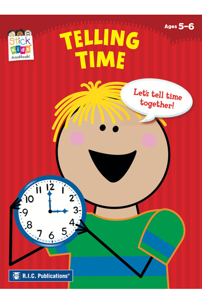 Stick Kids Maths - Ages 5-6: Telling Time