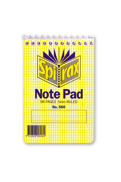Spirax Notebook 560 - A10 (112x76): Top Opening (Pack of 40)