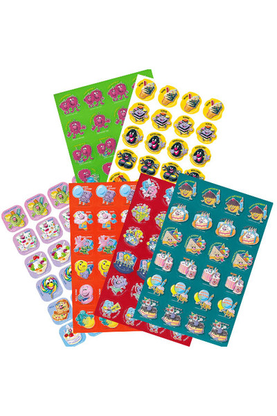 Mixed Shape ScentSations Stickers Variety Pack