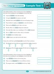 Excel - Year 6 - NAPLAN Style - Literacy Tests - Sample Pages - 9