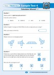 Excel - Year 7 - NAPLAN Style - Numeracy Tests - Sample Pages - 11