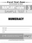 Excel Test Zone - NAPLAN-style - Year 3 - Test Pack - Sample Pages - 14