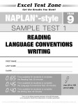Excel Test Zone - NAPLAN-style - Year 9 - Test Pack - Sample Pages - 12