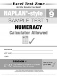 Excel Test Zone - NAPLAN-style - Year 9 - Test Pack - Sample Pages - 14
