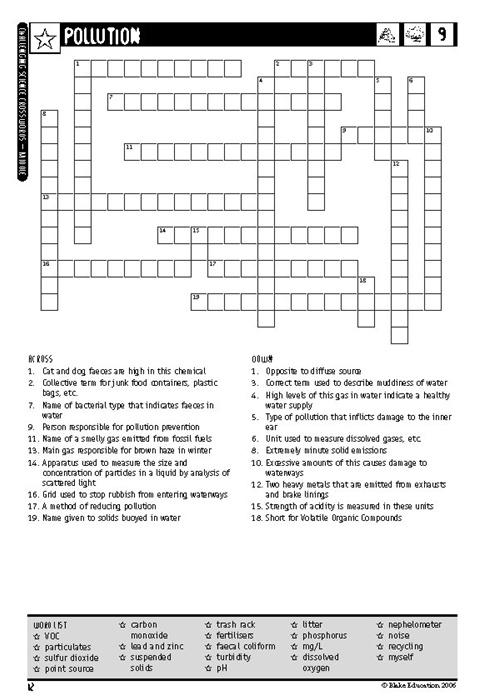 challenging science crosswords book 2 blake education