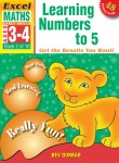 Excel Early Skills - Maths Book 2 Learning Numbers To 5